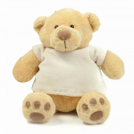 Pluche knuffel beren met t-shirt