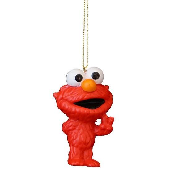 1x Kersthangers figuurtjes Sesamstraat Elmo 8 cm