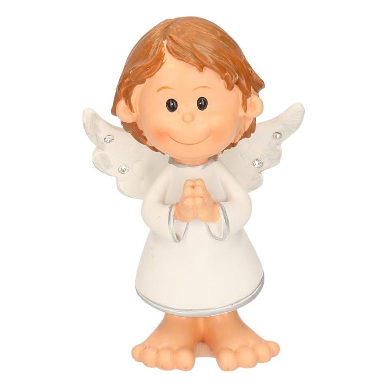 Biddende engel decoratie 10 cm