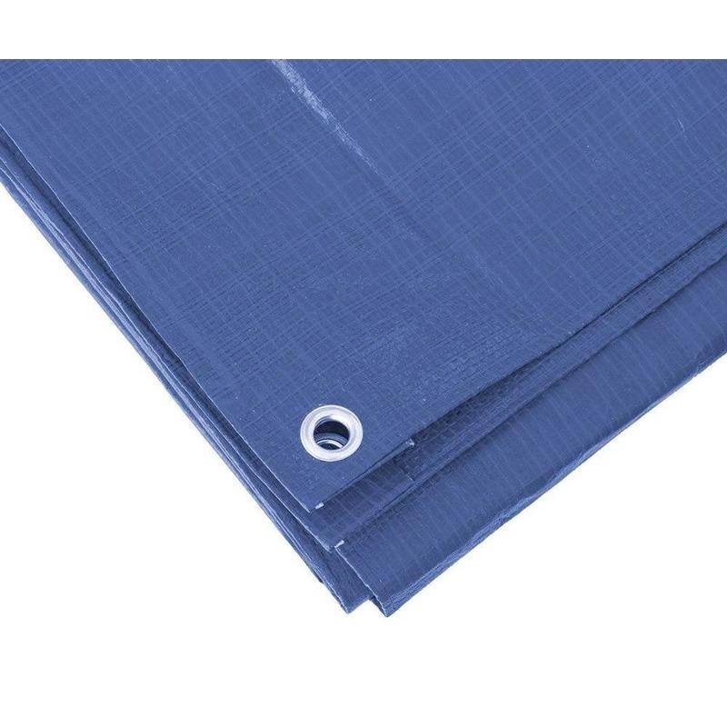 Blauw afdekzeil-dekzeil 5 x 8 meter