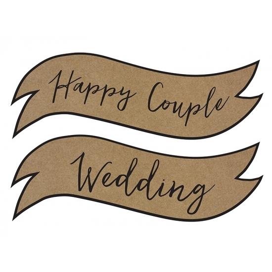 Bruiloft versiering Happy Couple