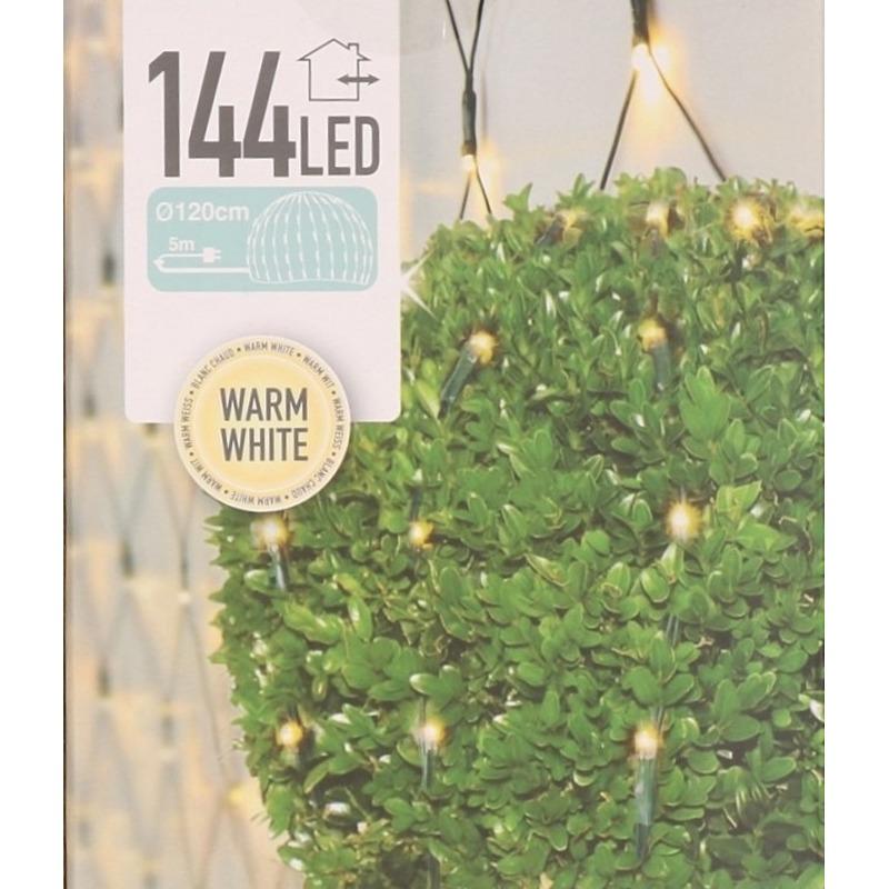Buxus Kerstverlichting warm wit LED verlichting 120 cm buiten