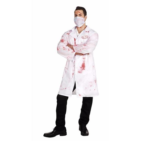 Carnaval verkleedset horror arts Dr. Mad