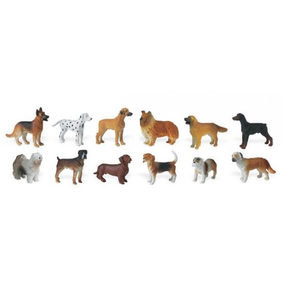 Decoratie honden 11 stuks