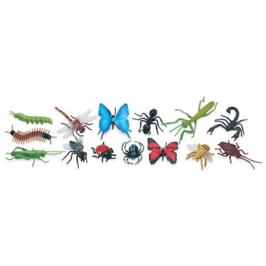 Decoratie insecten 14 stuks