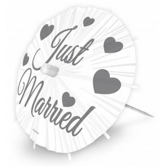 Decoratie parasols huwelijk