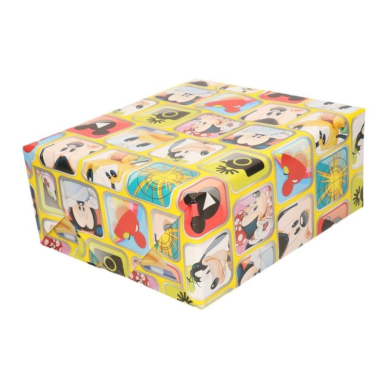 Disney inpakpapier-cadeaupapier Mickey Mouse 200 x 70 cm op rol