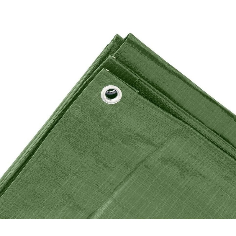Groen afdekzeil-dekzeil 2 x 3 meter