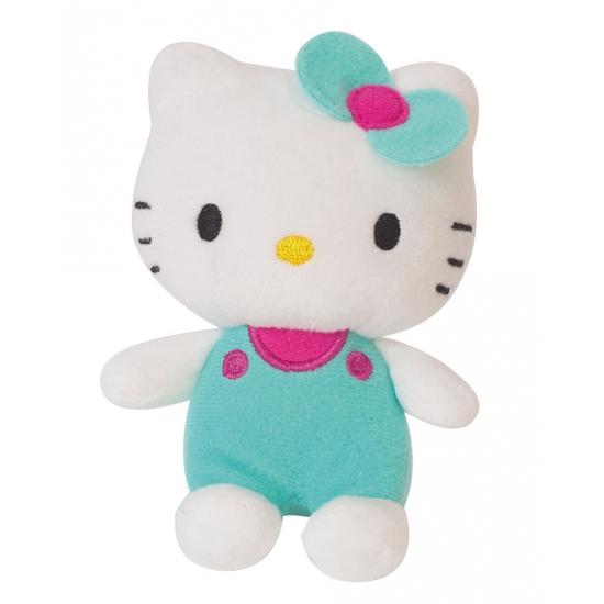 Groene pluche Hello Kitty knuffel