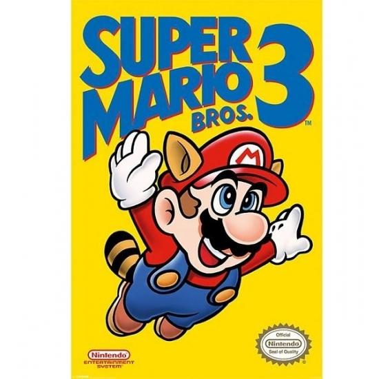 Grote deurposter van Nintendo Mario Bros