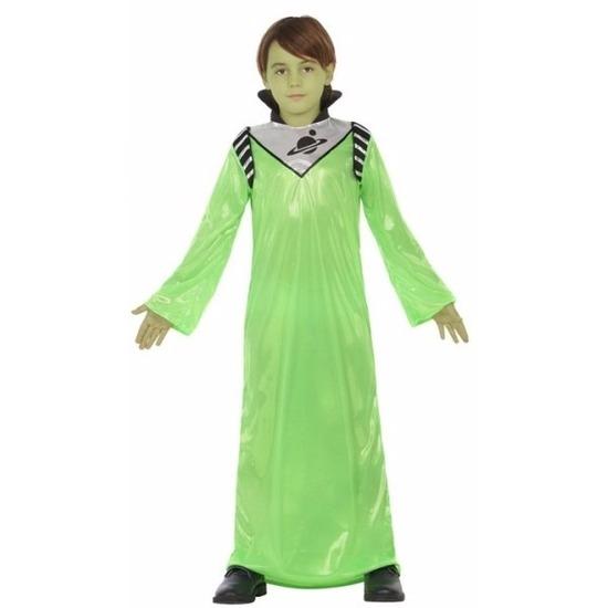 Halloween Alien Zharor kostuum verkleedkleding voor jongens