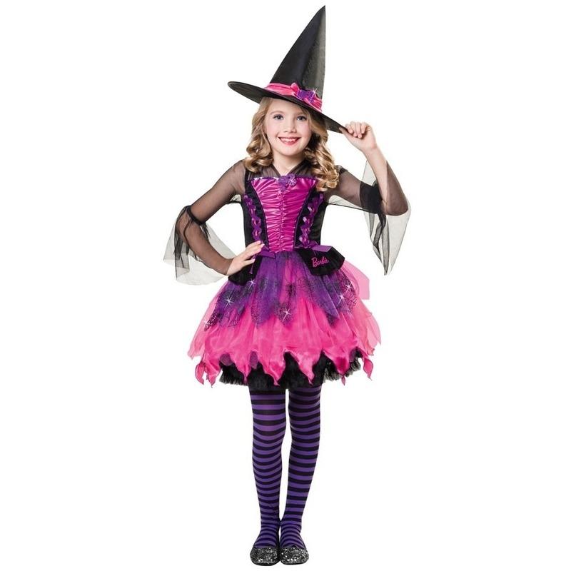 Halloween Barbie heksen kostuum voor meisjes