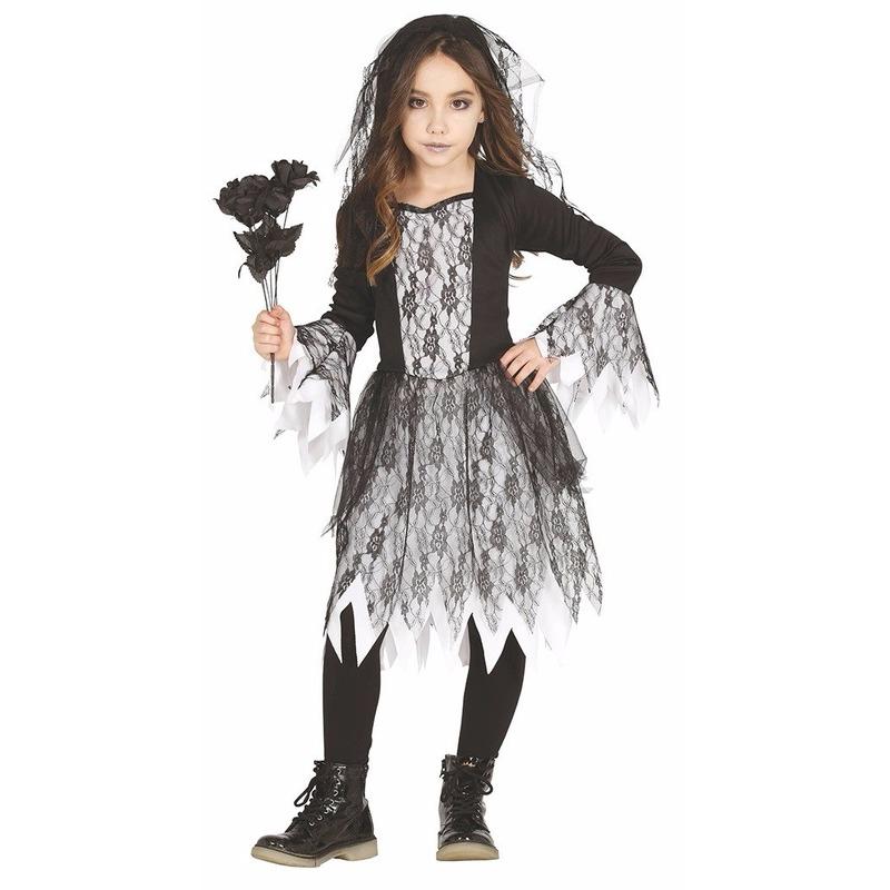 Halloween bruid kostuum voor meisjes