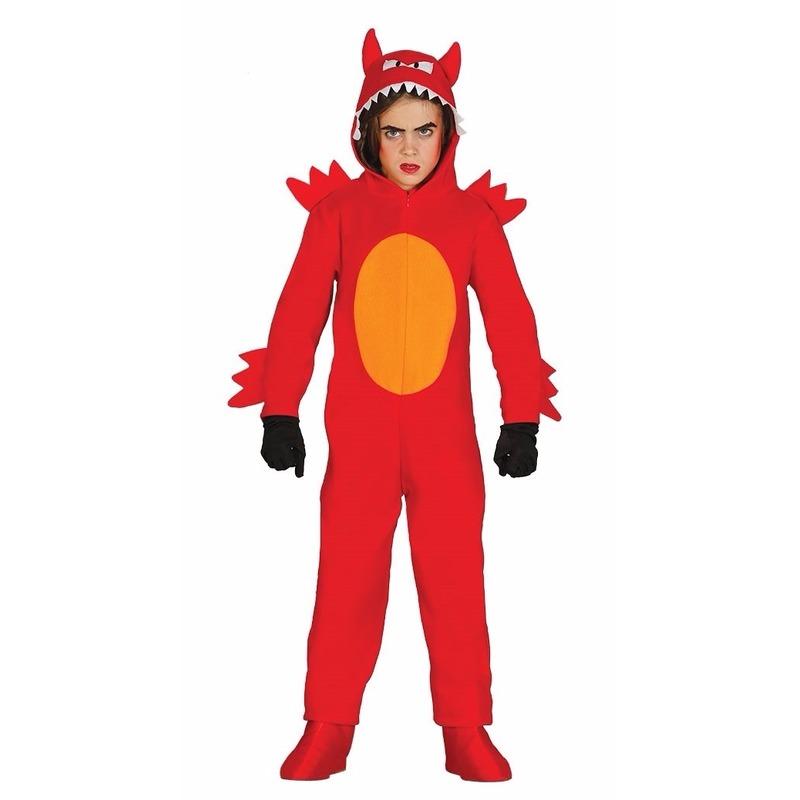 Halloween Duivel monster kostuum voor kinderen