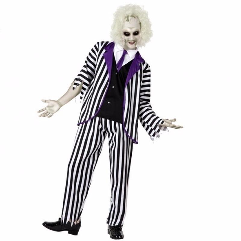 Halloween gestoorde man kostuum voor heren