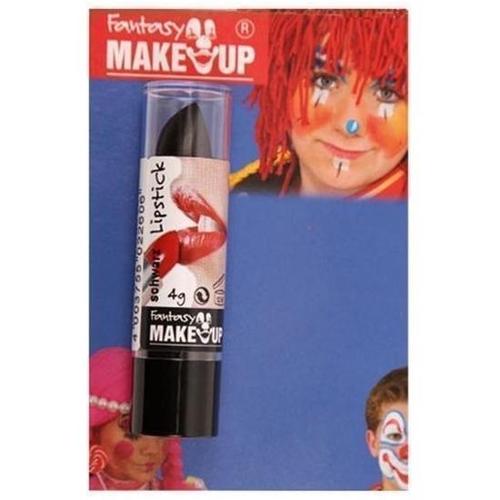 Halloween Halloween-horror mat zwarte lippenstift-lipstick