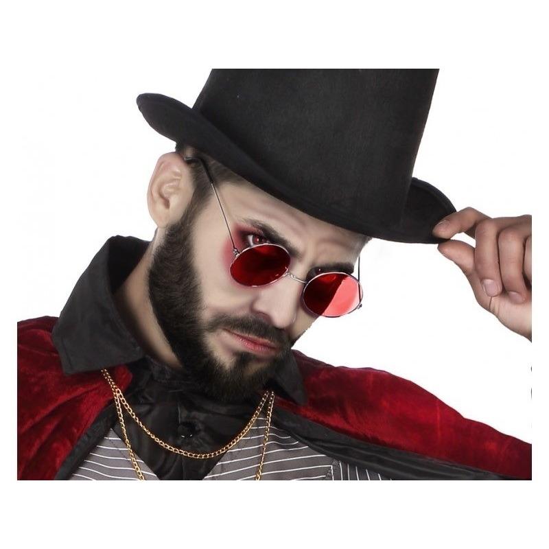 Halloween Horror rode Dracula verkleed bril voor volwassenen