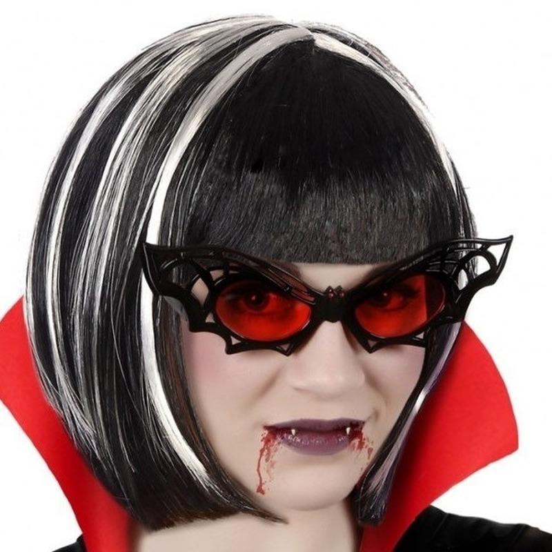 Halloween Horror vleermuis verkleed bril voor volwassenen