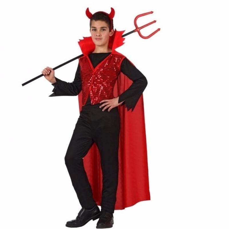 Halloween rode duivel kostuum voor kinderen