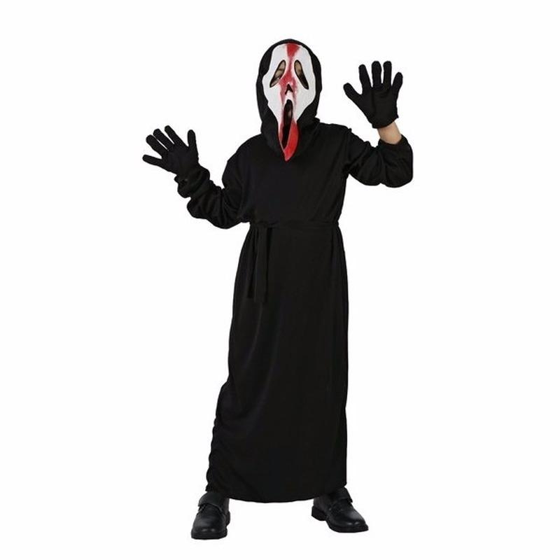 Halloween Schreeuwend spook kostuum voor kinderen