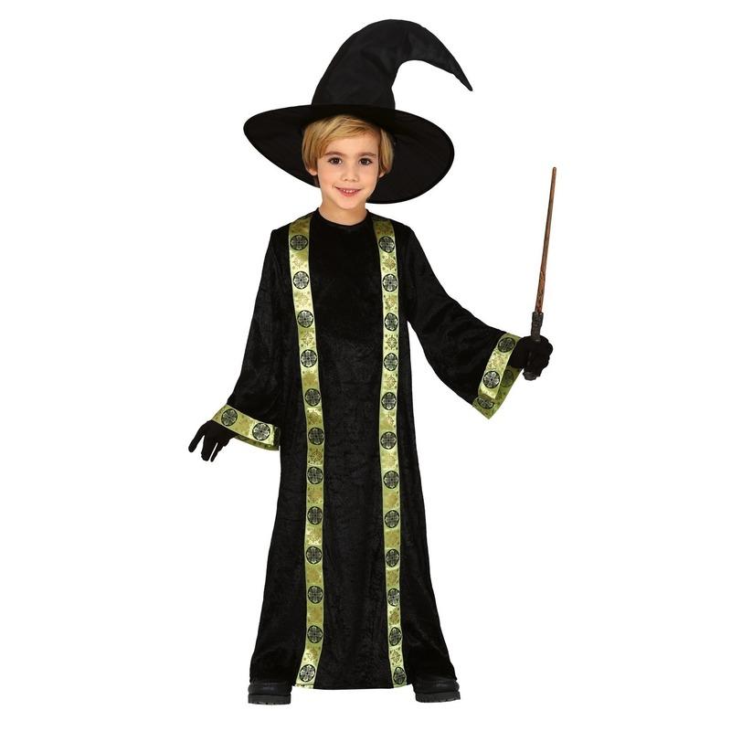 Halloween Tovenaar verkleed kostuum voor kinderen met hoed