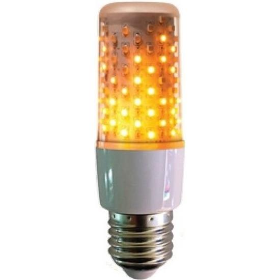 Halloween verlichting fakkel lamp lampbolletje E27 fitting wit