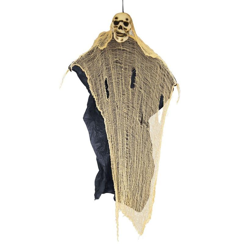 Halloween versiering spook-skelet pop 188 cm