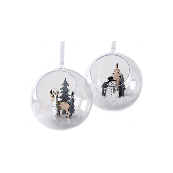 Hobby kerstballen open 8 cm maken