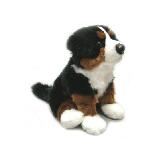 Honden knuffels zittende Berner Sennen 27 cm