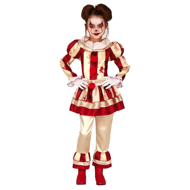 Horror clown Candy verkleed kostuum voor meisjes