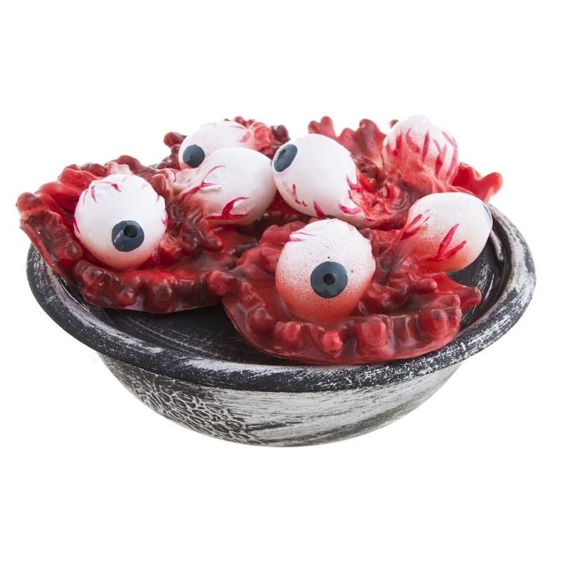 Horror schaal met ogen