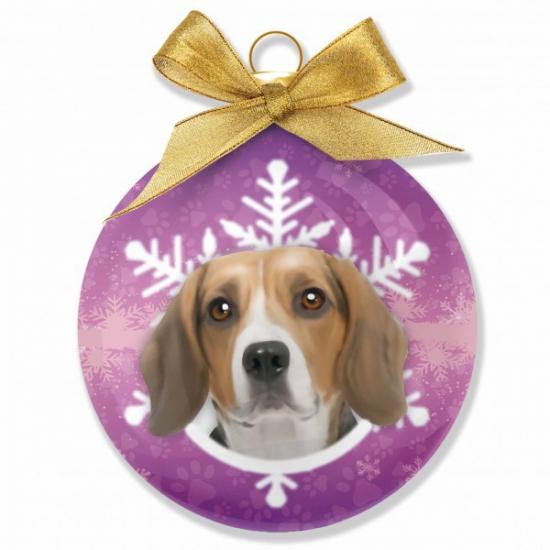 Huisdier kerstballen hond