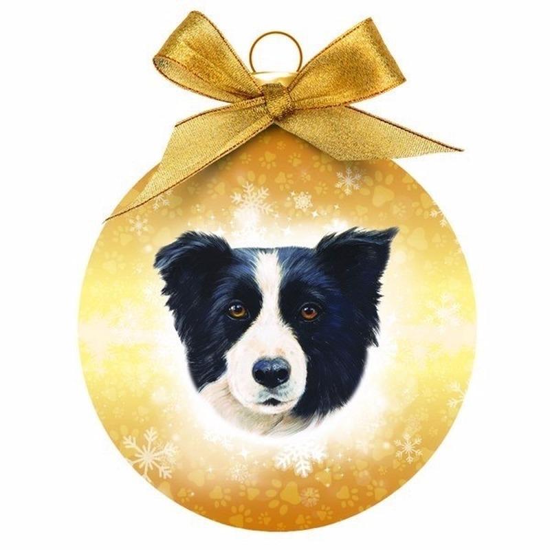Huisdieren kerstballen honden Border Collie
