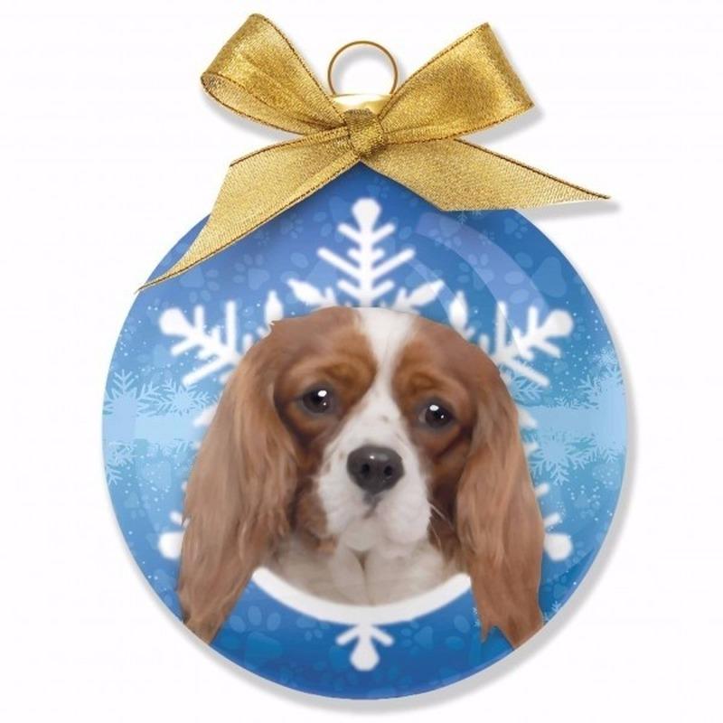 Huisdieren kerstballen honden Cavalier
