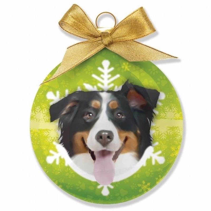 Huisdieren kerstballen hondje Berner Sennen