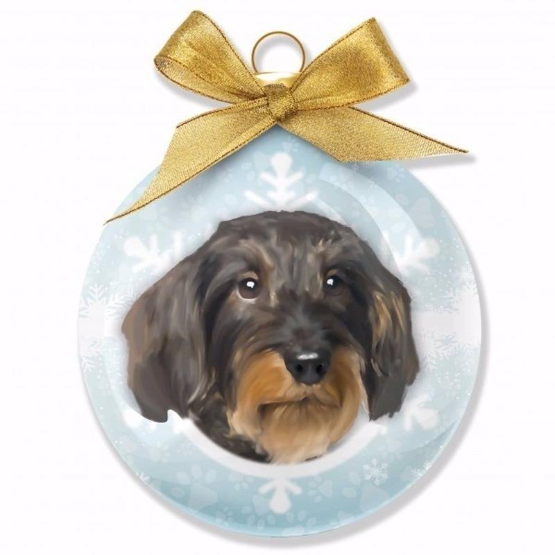 Huisdieren kerstballen hondjes Teckel