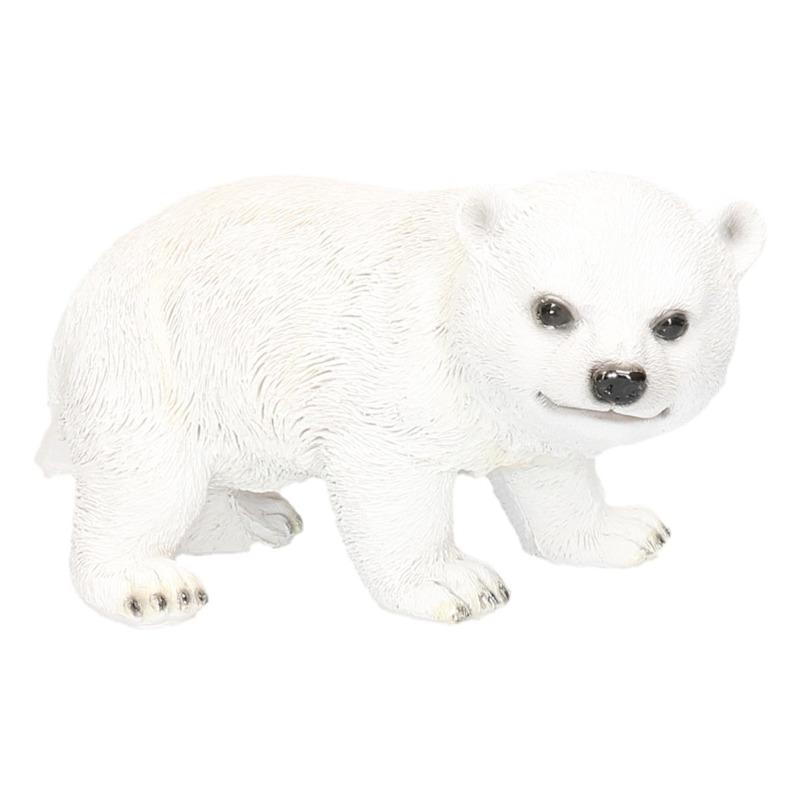 IJsbeer beeldje wit type 2 19 cm