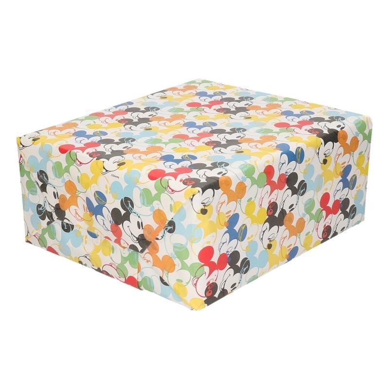 Inpakpapier-cadeaupapier Disney Mickey Mouse 200 x 70 cm