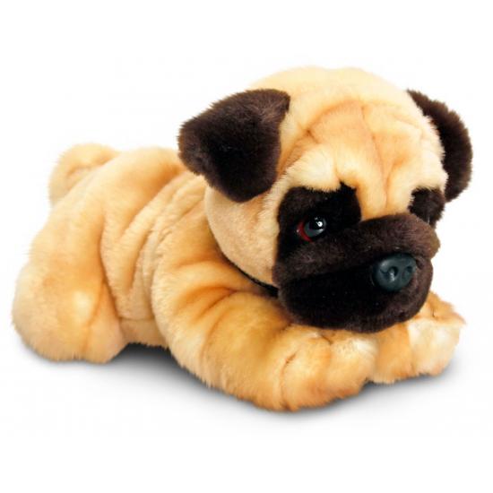 dec3513914d154 Honden knuffel Mopshond 30 cm bestellen | Handpoppen winkel