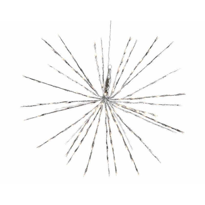 Kerstverlichting LED ster warm wit binnen-buiten 70 cm