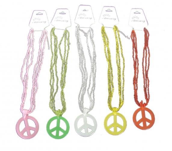 Ketting met peace teken