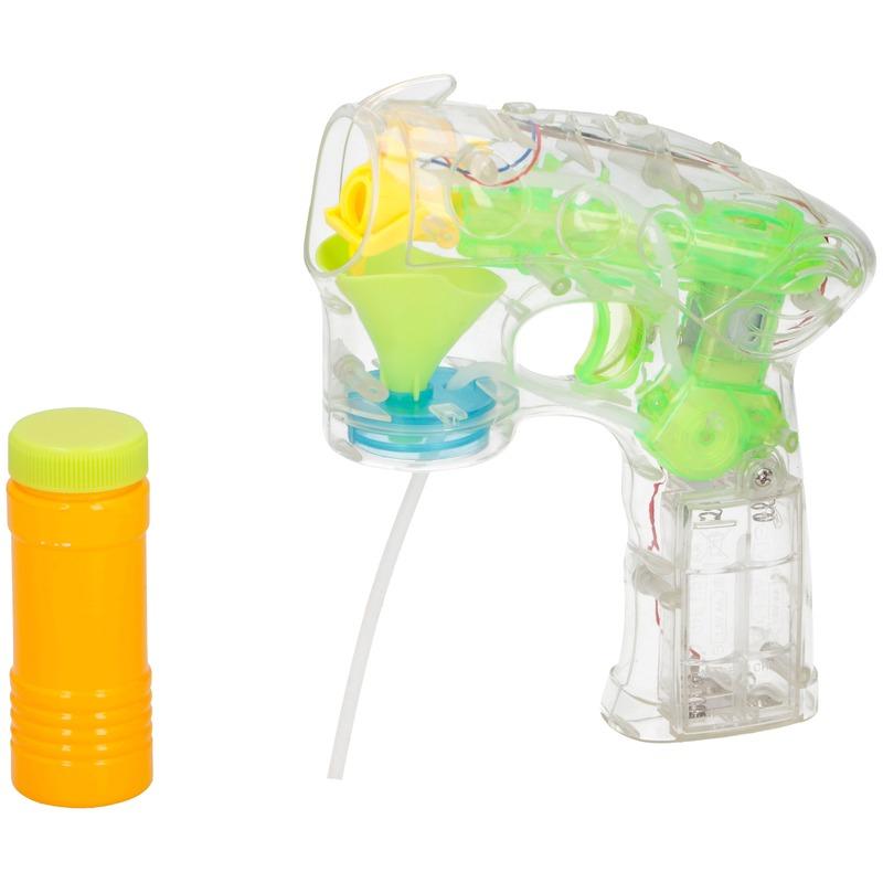 Kinder bellenblaas pistooltje met licht