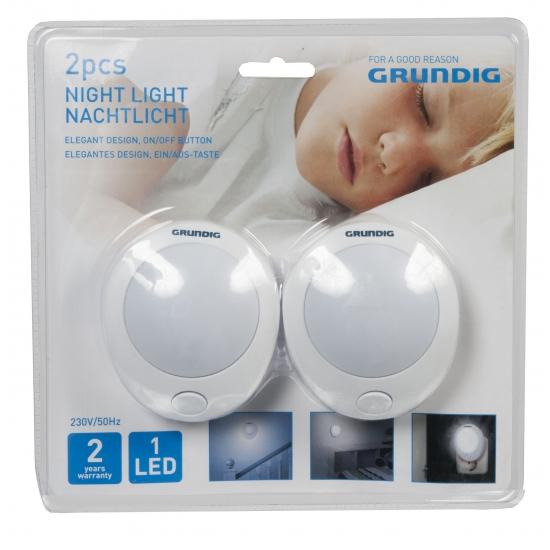 Kinderkamer LED lampje met knopje