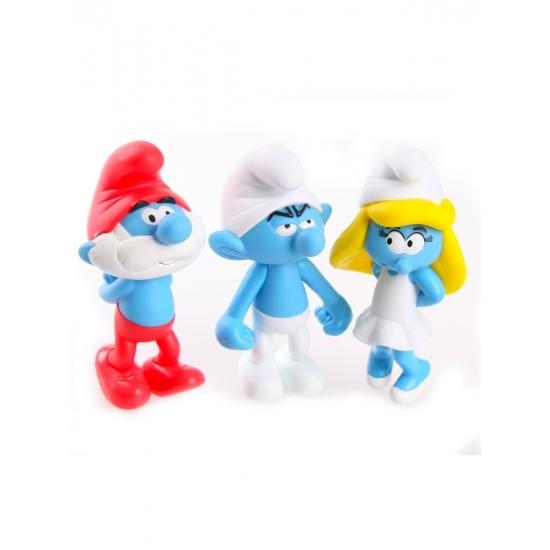 Kinderserie poppetjes Smurfen