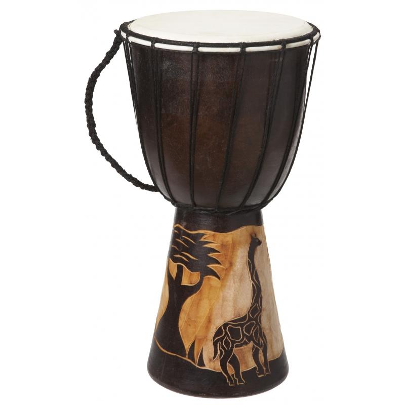Kinderspeelgoed houten drum 40 cm