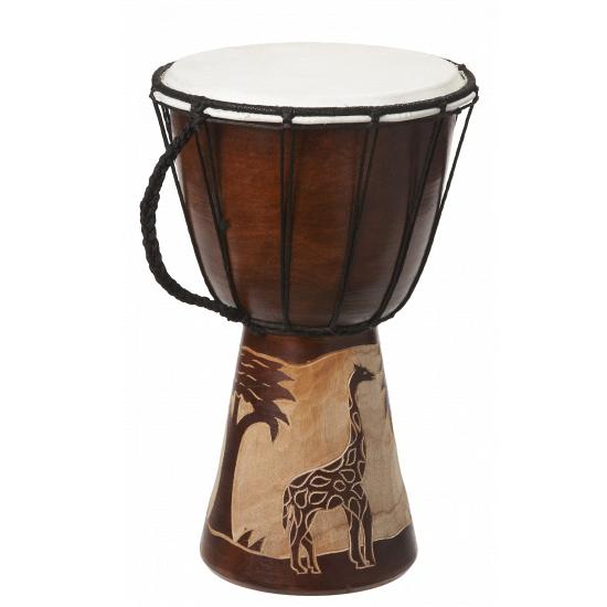 Kinderspeelgoed houten drum