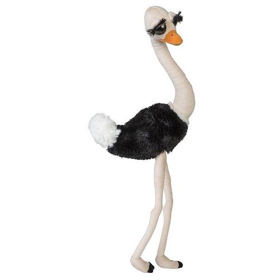 Knuffelvogel struisvogel 65 cm