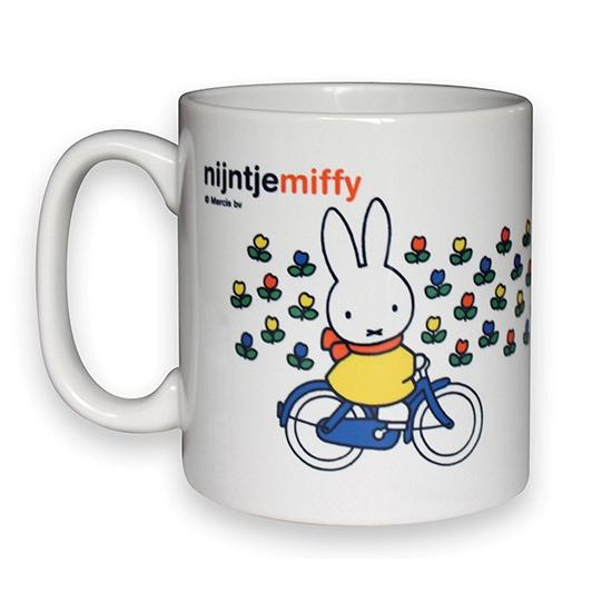 Koffie mokken Nijntje fietst