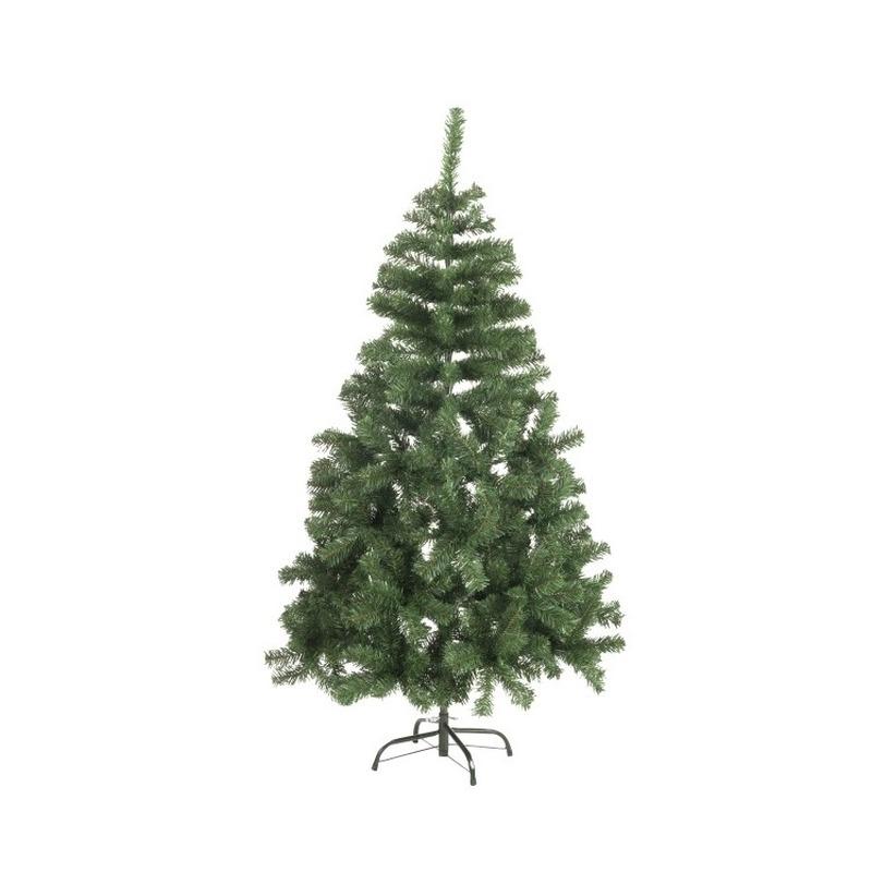 Kunst kerstboom zilverspar kerst decoratie 120 cm