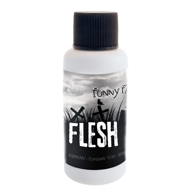 Latex rottende huid flacon 30 ml voor halloween